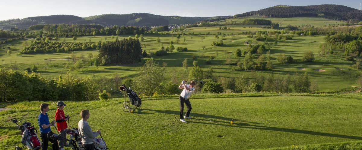 Golf-Einsteiger