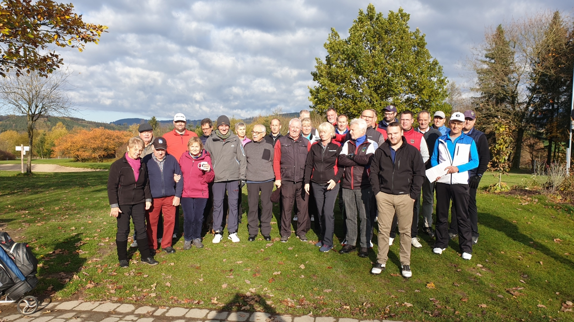 Start der Wintergolf Serie