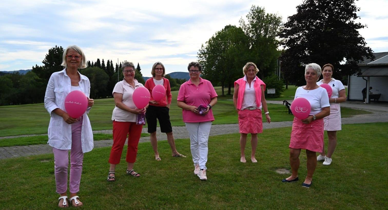 Damengolf – Pink Ribbon