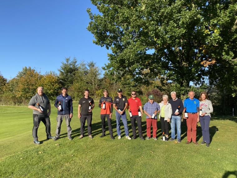Golfer trafen erneut auf Discgolfer!